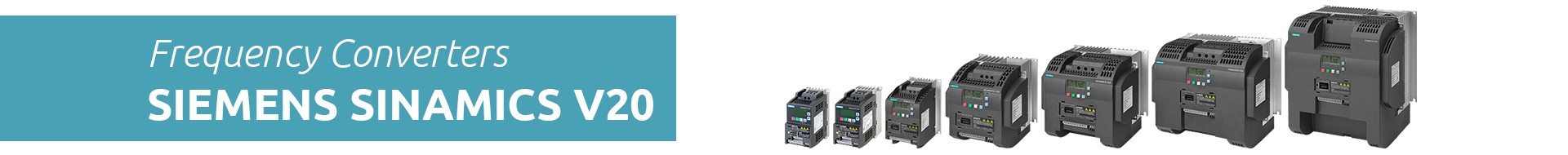 Frequency Converters Siemens Sinamics V20